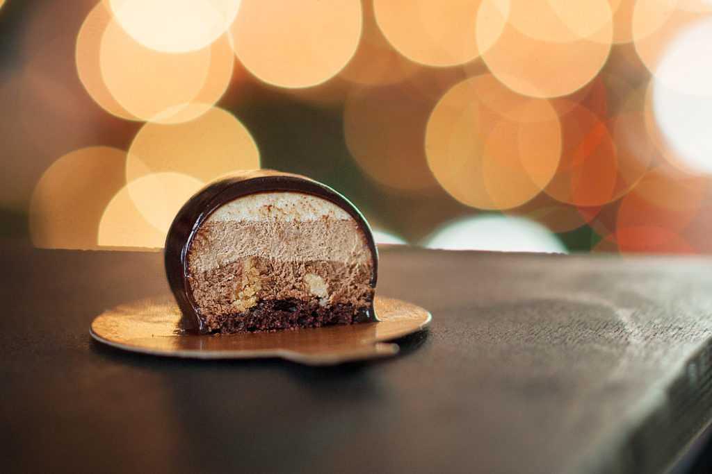 мусс три шоколада
