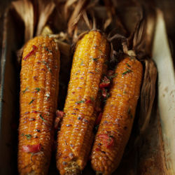 Жаренная кукуруза