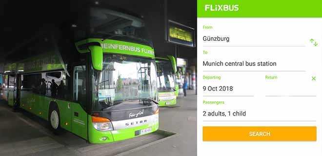 Автобус до парка.