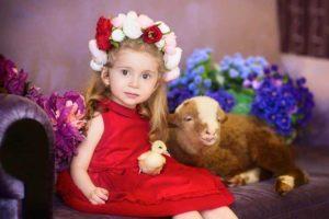 Калиничева Анна. Детская фотоссесия.