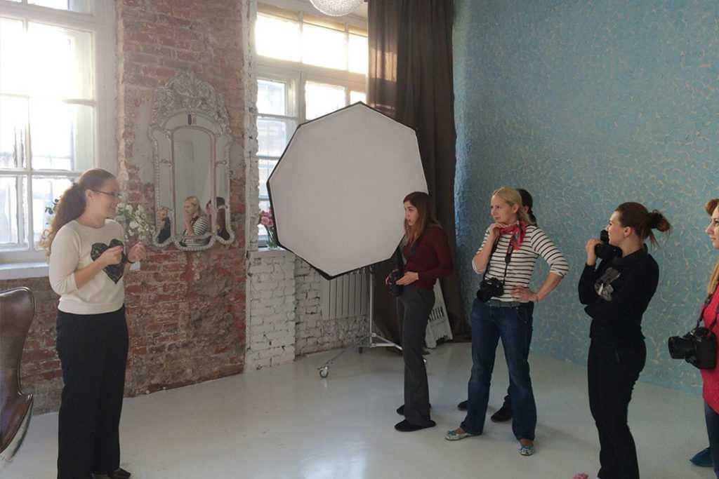 Урок по фотографии