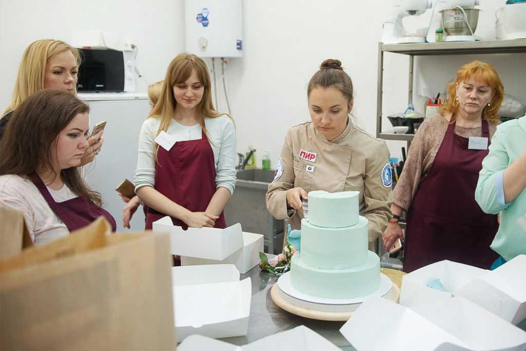 Урок по изготовлению тортов