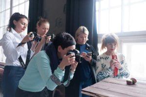 практическая часть мастер класса по Food фотографии