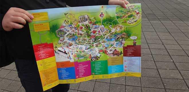 Карта парка.