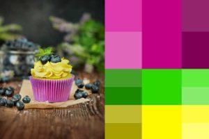 Управления цветом фиолетовой гаммы