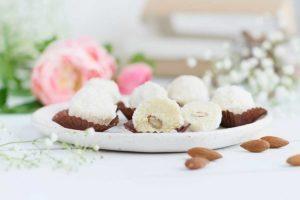 белые конфеты